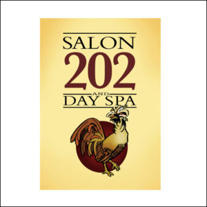 Logo for Salon 202 and Day Spa